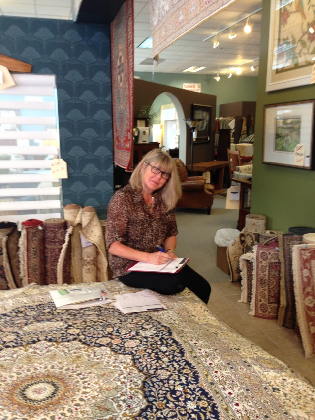 Patty our Rug Expert